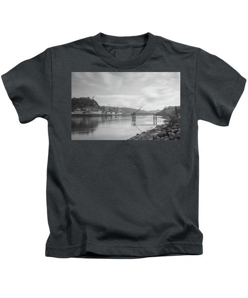 Porto Landscape With A Sky Kids T-Shirt