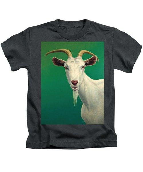 Portrait Of A Goat Kids T-Shirt