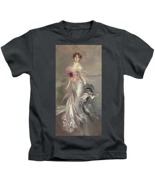 Portrait Of Marthe Regnier Kids T-Shirt