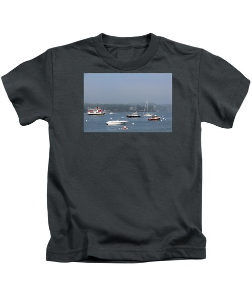 Portsmouth Harbor Nh Kids T-Shirt