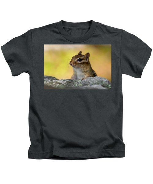 Posing Chipmunk Kids T-Shirt