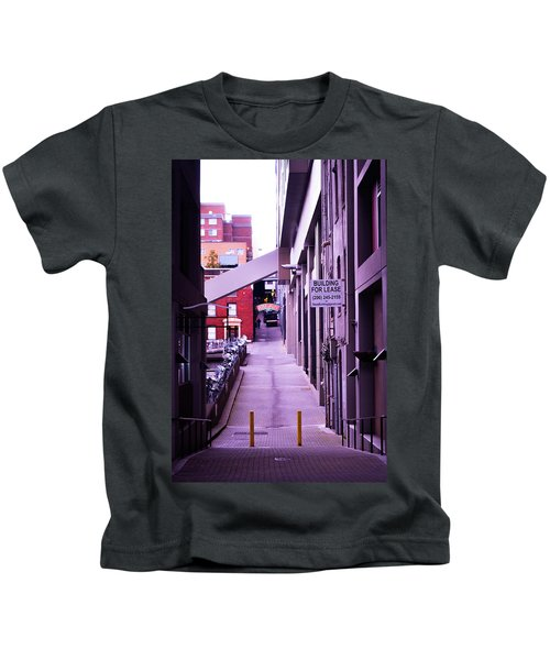 Post Alley, Seattle Kids T-Shirt