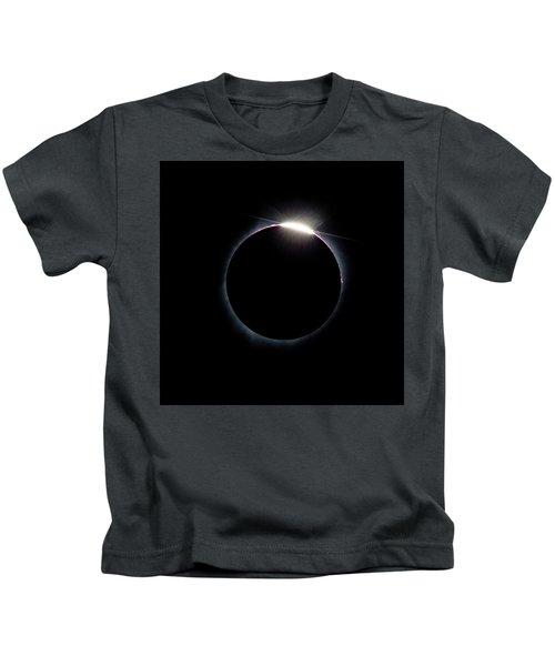 Post Diamond Ring Effect Kids T-Shirt