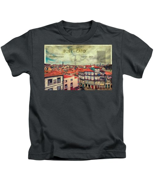 postcard of Porto Kids T-Shirt