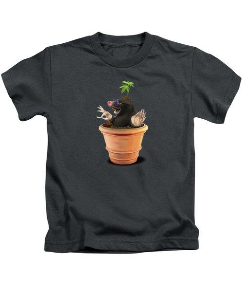 Pot Wordless Kids T-Shirt