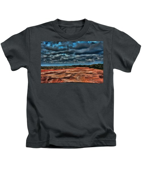 Prairie Dog Town Fork Red River Kids T-Shirt