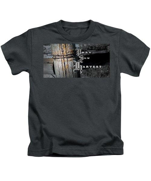 Pray Sow Harvest Kids T-Shirt