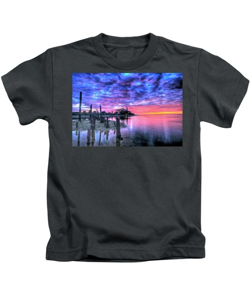 Pre Dawn At St. Marks #1 Kids T-Shirt