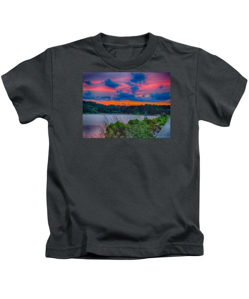 Pre-sunset At Hbsp Kids T-Shirt