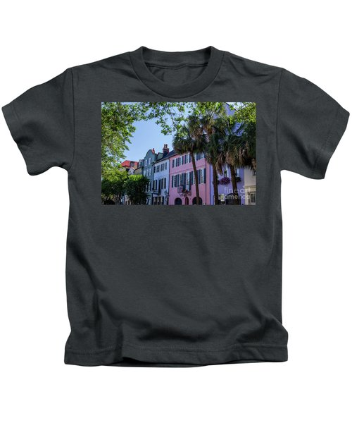 Presenting Rainbow Row  Kids T-Shirt