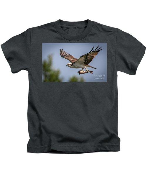 Prey In Talons Kids T-Shirt