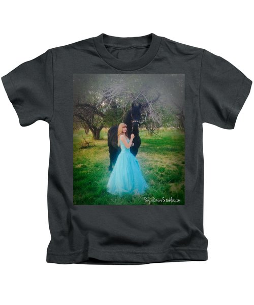 Princess' Stallion Kids T-Shirt