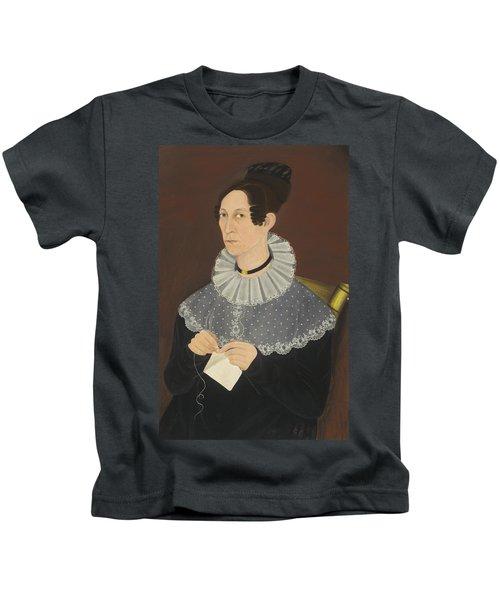 Probably Sarah Cook Arnold Knitting Kids T-Shirt
