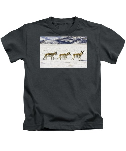 Pronghorns Kids T-Shirt