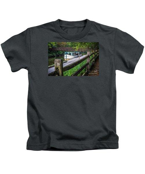 Providence Metropark Erie Canal  Kids T-Shirt
