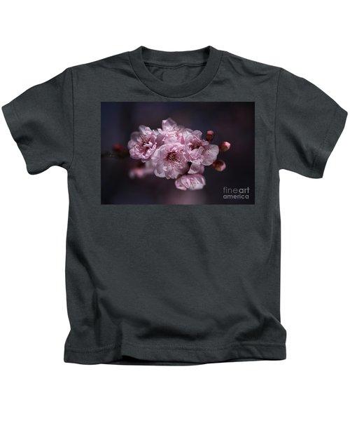 Prunus A Pink Spring Kids T-Shirt