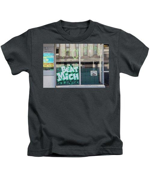 Pt O'maleys Beat Mich Kids T-Shirt