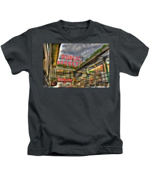 Public Market Kids T-Shirt