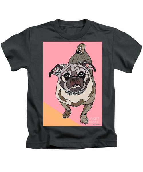 Pug In Digi Kids T-Shirt
