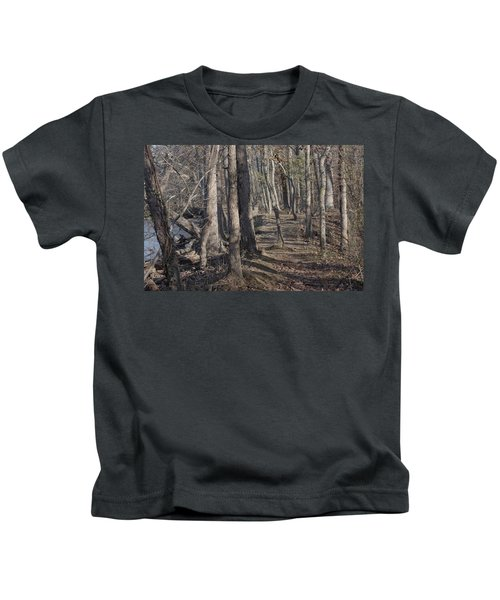 Pumpkin Ash Trail Kids T-Shirt