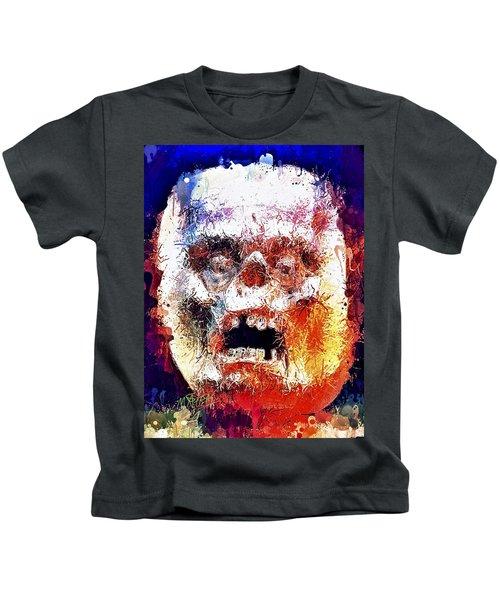 Pumpkin Scream Kids T-Shirt