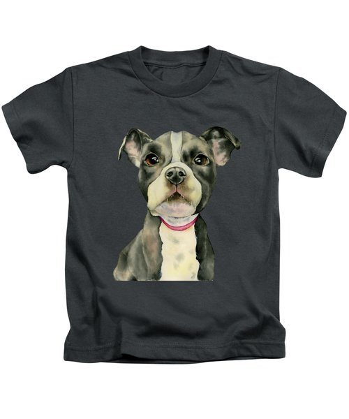 Puppy Eyes Kids T-Shirt