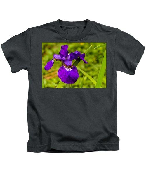 Purple Beauty Kids T-Shirt