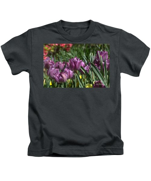 Purple Bliss Kids T-Shirt