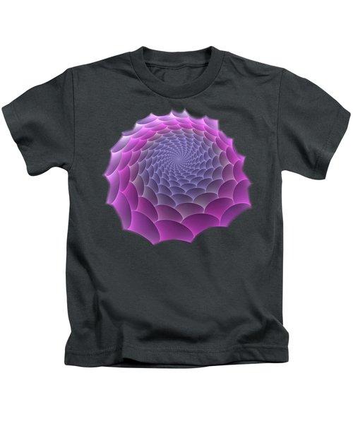 Purple Gradient Kids T-Shirt