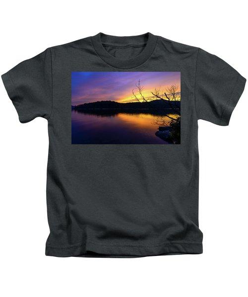 Purple Lake Kids T-Shirt