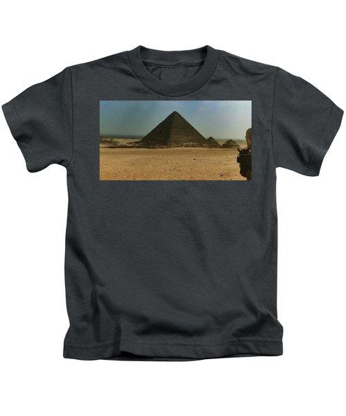 Pyramids Of Egypt Kids T-Shirt
