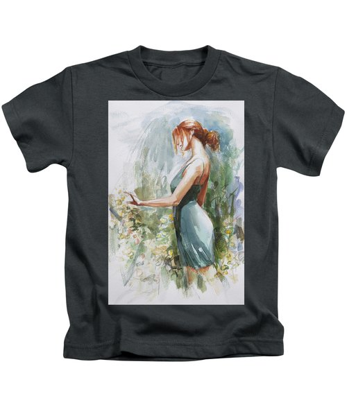 Quiet Contemplation Kids T-Shirt