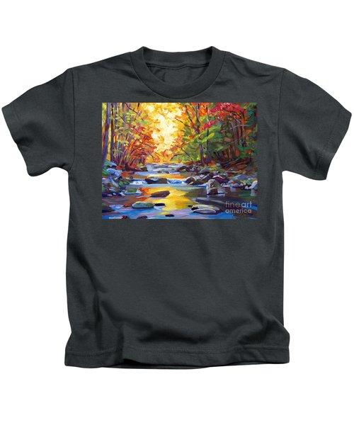 Quiet Stream Kids T-Shirt