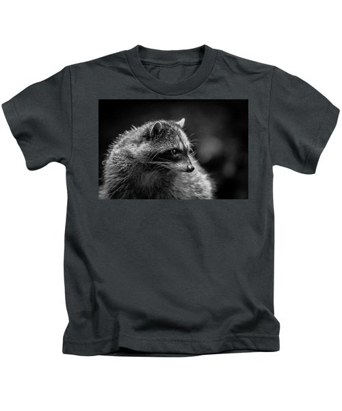 Raccoon 3 Kids T-Shirt
