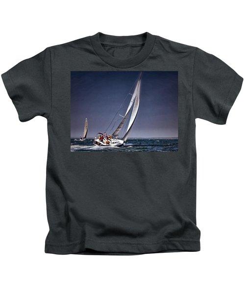 Racing To Nantucket Kids T-Shirt