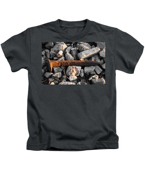 Railroad Spike Kids T-Shirt