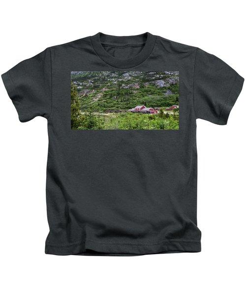 Railroad To The Yukon Kids T-Shirt