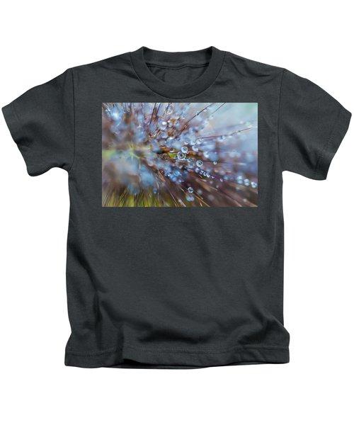 Rain Drops - 9751 Kids T-Shirt
