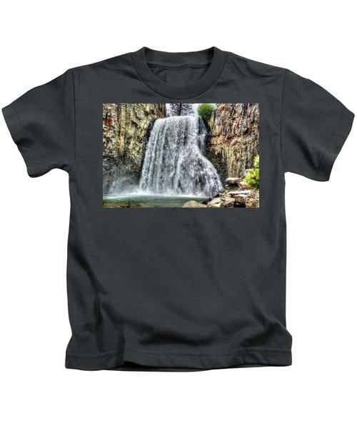 Rainbow Falls 7 Kids T-Shirt