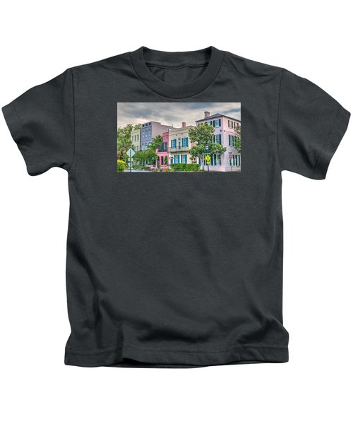 Rainbow Row II Kids T-Shirt