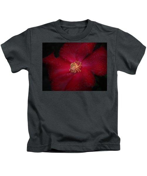 Rainy Ruby Rose Kids T-Shirt