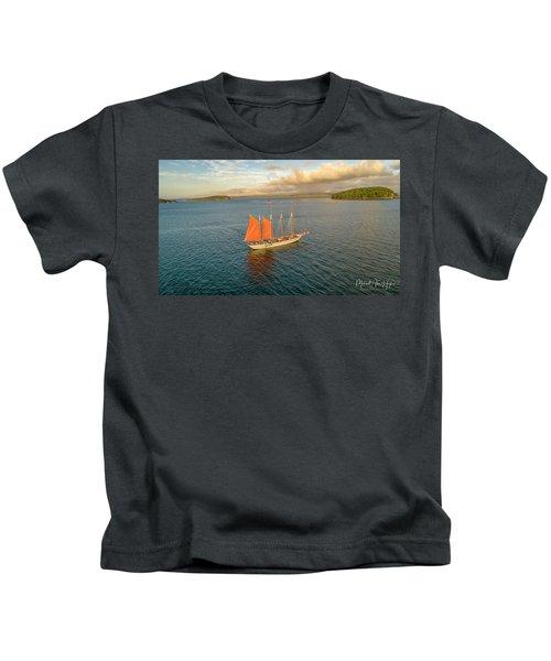 Raising The Sail Kids T-Shirt