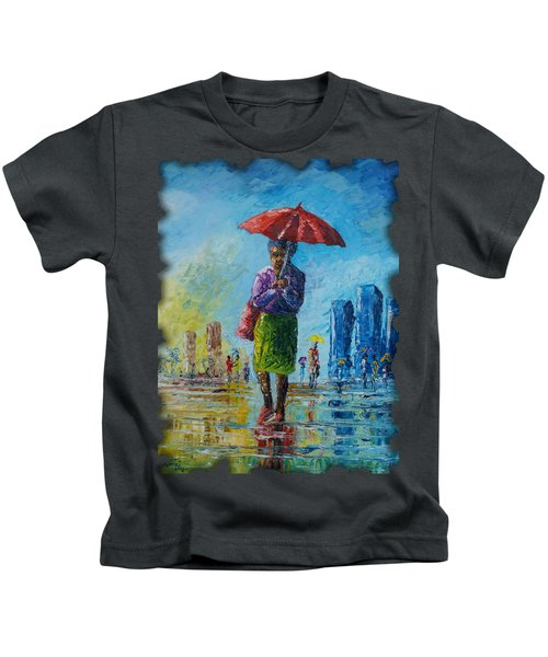 Rainy Day Kids T-Shirt