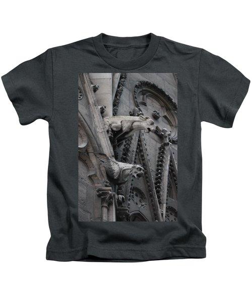 Ram And Eagle Griffon Notre Dame Kids T-Shirt