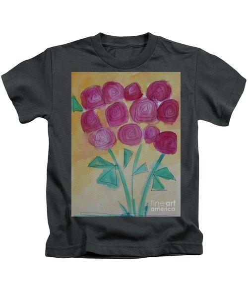Randi's Roses Kids T-Shirt