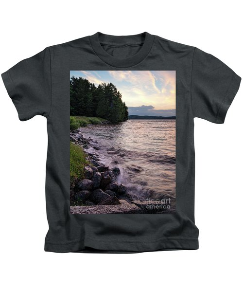 Rangeley Lake State Park In Rangeley Maine  -53215-53218 Kids T-Shirt