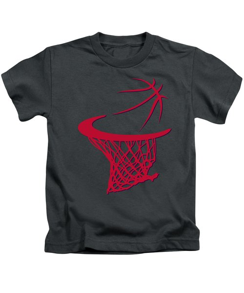 Raptors Basketball Hoop Kids T-Shirt