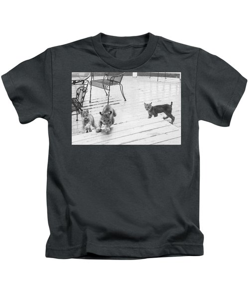 Relay Chase Kids T-Shirt
