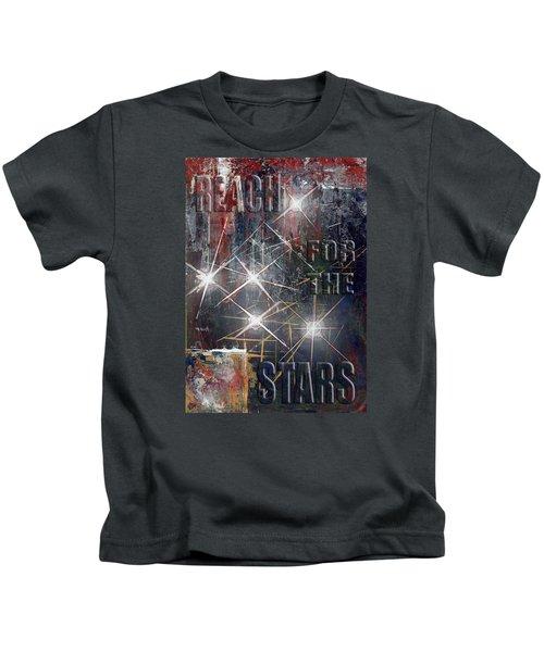 Reach For The Stars Kids T-Shirt