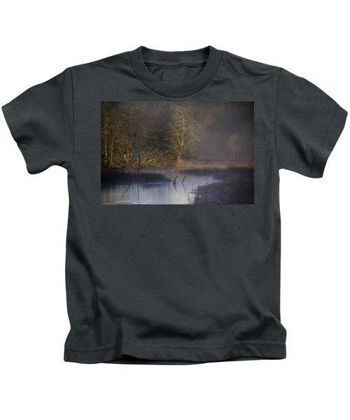 Red Alder Along Colewort Creek Kids T-Shirt